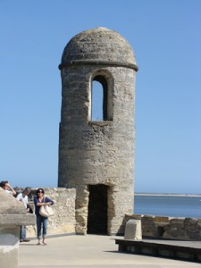 Corner Tower of the Castillo de san Marcos ~ St. Augustine, Florida