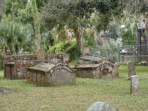 Low Crypt Graves @ Tomolato Cemetery ~ St. Augustine, Florida
