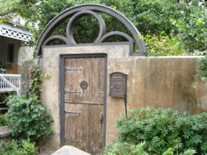 An Old Garden gate ~ Old City ~ St. Augustine, Florida